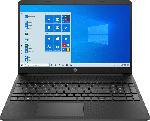 MediaMarkt HP 15s-eq1351ng, Notebook mit 15.6 Zoll Display, AMD Ryzen 5 Prozessor, 8 GB RAM, 256 GB SSD, AMD Radeon Grafik, Schwarz