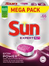 Sun Geschirrspültabs Expert Extra Power, 66 Stück