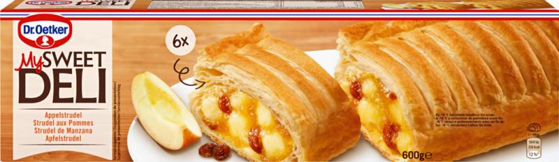 Strudel aux pommes My Sweet Deli Dr. Oetker, 600 g