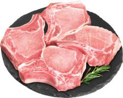 Denner Schweinskotelett, mager, Schweiz, 4 Stück, 640 g