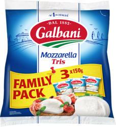 Galbani Mozzarella, Kugeln, 3 x 150 g
