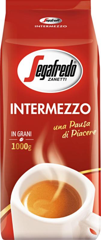 Café Intermezzo Segafredo, en grains, 1 kg