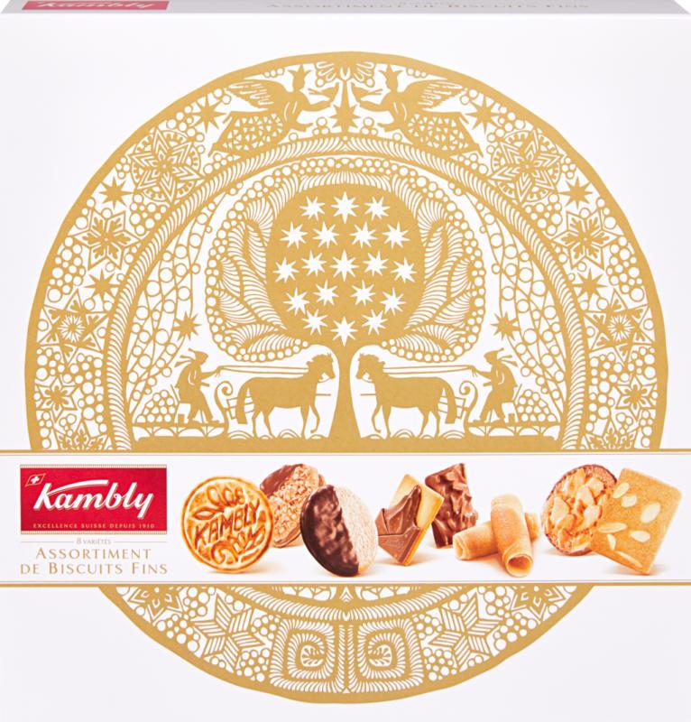 Kambly Biscuitsmischung Printemps Noël, Scherenschnitt, 350 g