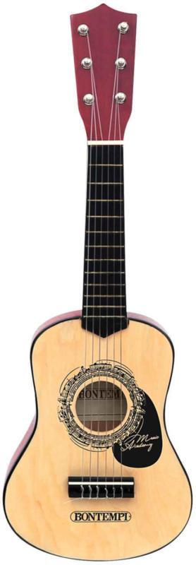 Bontempi Chitarra in legno 55 cm, nera -