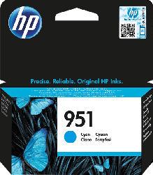 HP 951 Tintenpatrone Cyan (CN050AE)