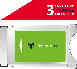 FREENET TV DVB-T2 HD/DVB-S CI+ Modul inkl. 3 Monate gratis*