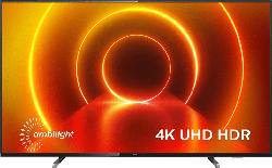 PHILIPS 55PUS7805/12 LED TV (Flat, 55 Zoll/139 cm, UHD 4K, SMART TV, Ambilight, Saphi Smart TV)