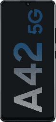 SAMSUNG Galaxy A42 5G 128 GB Prism Dot Black Dual SIM