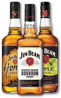 Jim Beam Diverse Sorten 35-40% 1L