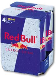 Red Bull 4x0,25L