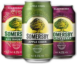 Sommersby Cider Diverse Sorten 4,5% 0,33L