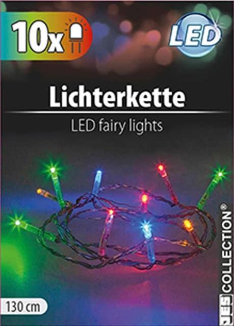 LED-Lichterkette bunt
