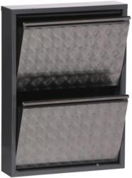 Schuhschrank Mac B: 50 cm Grau