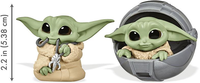 HASBRO Star Wars The Bounty Collection, The Child 5,5 cm große Figuren Spielfigur, Mehrfarbig