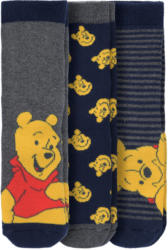 3 Paar Winnie Puuh Socken im Set