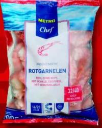 -25% auf TK Garnelen der Marke METRO Chef