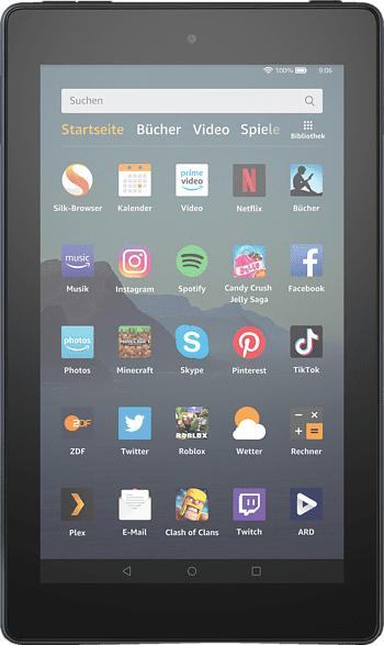 AMAZON Fire 7, Tablet , 32 GB, 7 Zoll, Schwarz