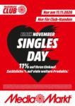 MediaMarkt Singles Day - bis 11.11.2020