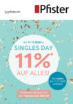 Pfister Singles Day Aktion - bis 11.11.2020