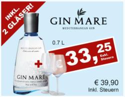 Gin Mare inkl. 2 Gläser Gratis