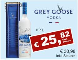 Grey Goose Vodka inkl. Geschenkbox