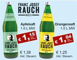 Franz Josef Rauch Orangensaft