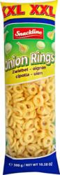 Snackline XXL Maissnacks Onion Rings, mit Zwiebelgeschmack, gesalzen, 300 g