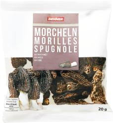 Denner Morcheln, getrocknet, 20 g
