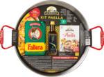 Denner Kit à paella La Barraca, contient 1 poêle en acier, 500 g de riz à paella, 1 mélange d'épices, 100 ml d'huile d'olive Extra Vergine - au 21.06.2021