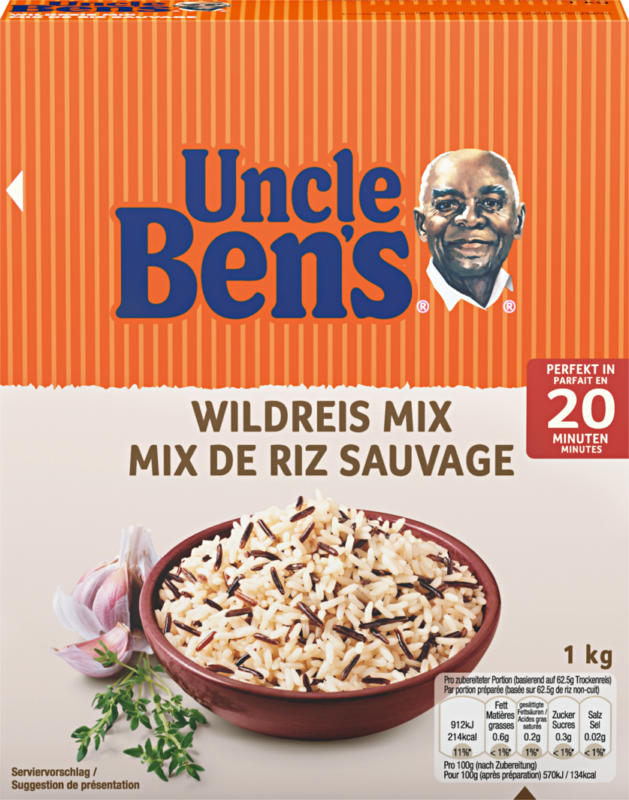 Uncle Ben's Wildreis-Mix, 1 kg