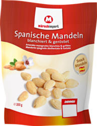 Mandorle spagnole Märsch, sbollentate e tostate, 200 g