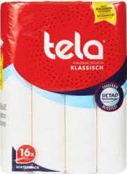 Papier de ménage Tela Casa, Classique, 2 couches, 16 x 50 feuilles