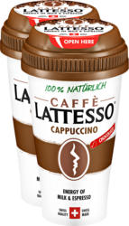 Caffè Lattesso Cappuccino, 2 x 250 ml