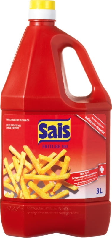 Huile à frire Friture Sais, 3 litres