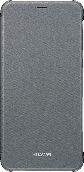 HUAWEI 51992274 , Flip Cover, Huawei, P smart, Polyurethan/Polycarbonat, Schwarz