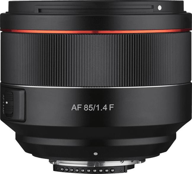 SAMYANG AF 85 mm-85 mm f./1.4  (Objektiv für Nikon F-Mount, schwarz)