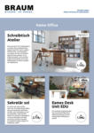 Möbel Braum Möbel für das Home Office! - bis 09.12.2020