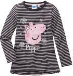 Ernsting's family Peppa Pig Langarmshirt im Ringel-Look