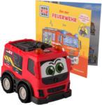 Ernsting's family Was ist was Fahrzeug und Buch Feuerwehr