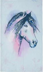 Kuscheldecke mit Pferde-Zeichnung (Nur online)
