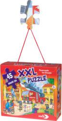 XXL Puzzle mit Feuerwehr-Motiv (Nur online)