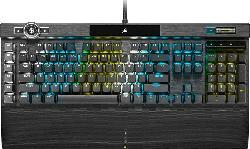 Gaming Tastatur Gaming K100 RGB, Corsair OPX, USB, DE (CH-912A01A-DE)