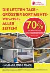 Möbel Hubacher Rausverkauf! - bis 22.11.2020