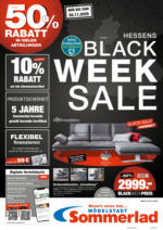 Möbelstadt Sommerlad: Black Week Sale
