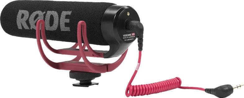 RODE VideoMic Go, Mikrofon, Schwarz, passend für Kamera