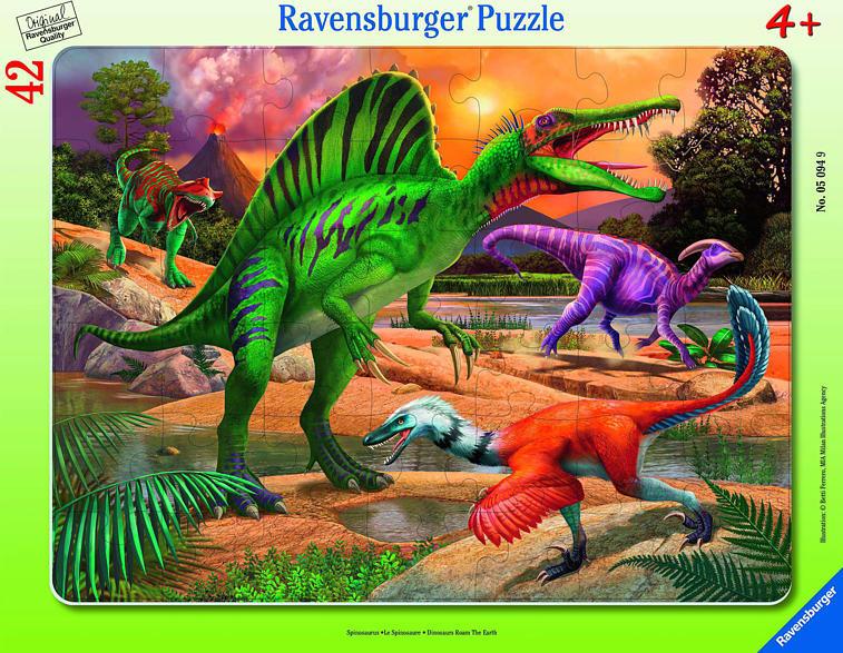 RAVENSBURGER Spinosaurus Puzzle, Mehrfarbig