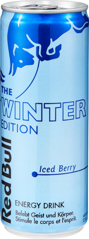 Red Bull Energy Drink Winter Edition, 25 cl