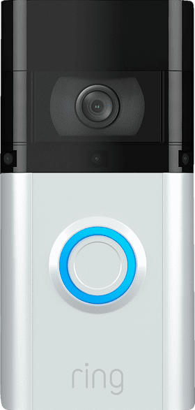 RING Video Doorbell 3 Plus Türklingel, Auflösung Video: 1080p, Silber