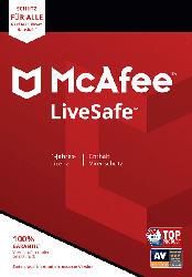 McAfee LiveSafe (Code in a Box) - [PC]