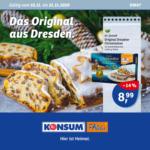 Konsum Dresden Wöchentliche Angebote - bis 21.11.2020